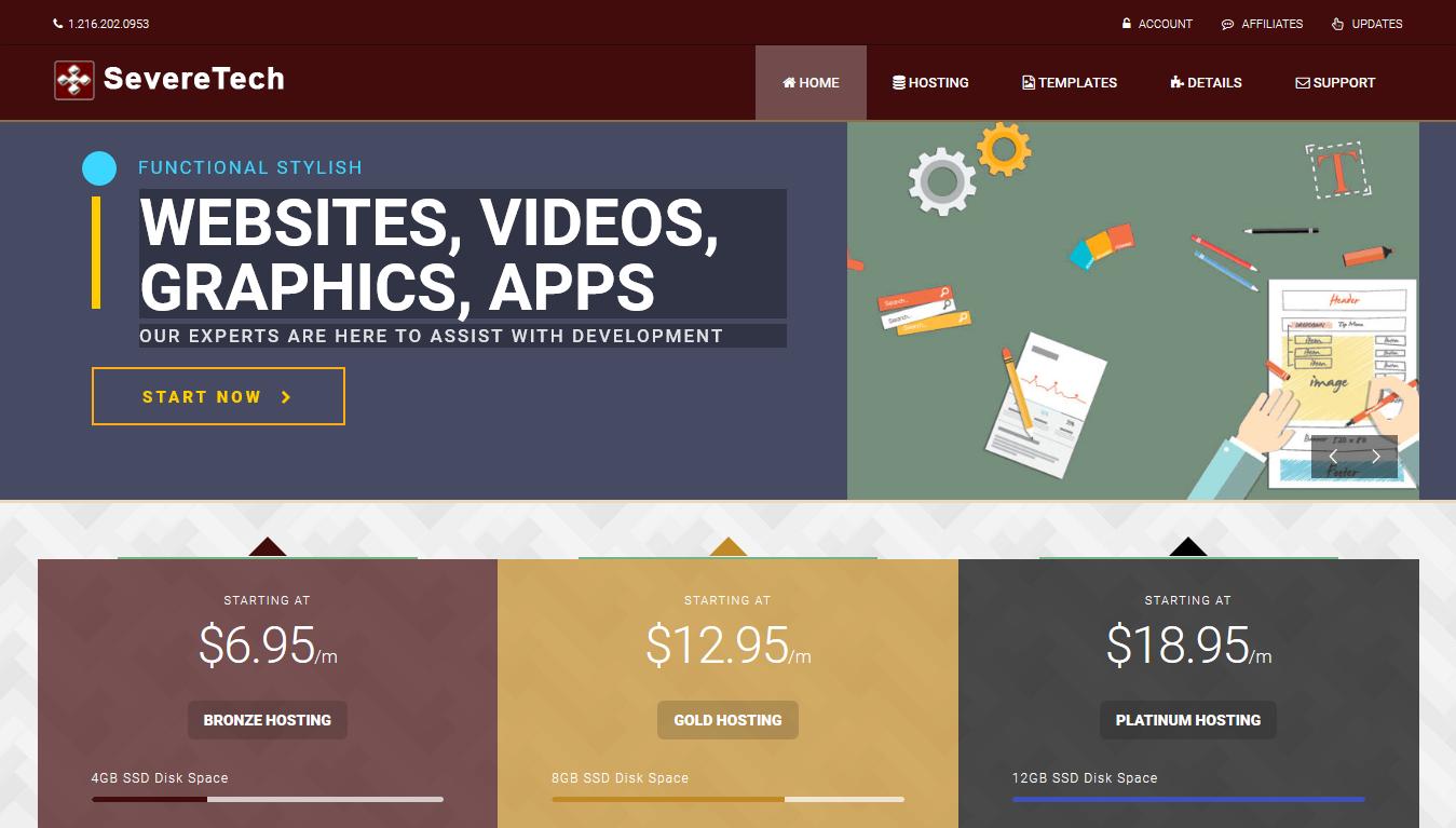 SevereTech Home Page